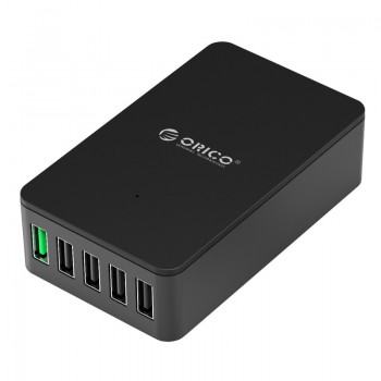 ORICO 40W 5 Port (QC2.0 * 1) Smart Desktop Charger (QSE-5U)