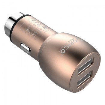 ORICO 15.5W Safety Hammer Design 2 Port Car Charger (UCM-2U)