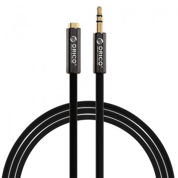 ORICO USB3.0 3.5 M to 1M Audio Cable - Black (FMC-10)