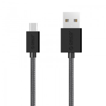 ORICO 3A Nylon Braided USB A to Mrico B Charge & Sync Cable 1 Meter (MDC-10)