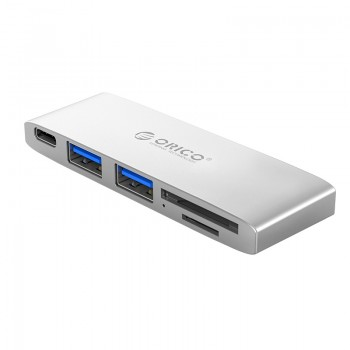 ORICO Type-C to USB3.0 * 2 / Type-C / TF/SD * 1 PD Docking Station (CLH-X6)