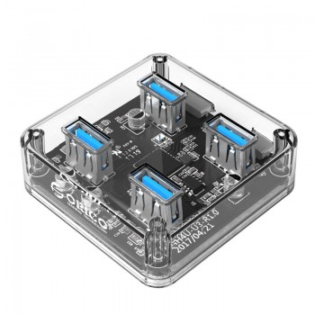 ORICO 4 Port USB3.0 Transparent HUB (MH4U-U3)