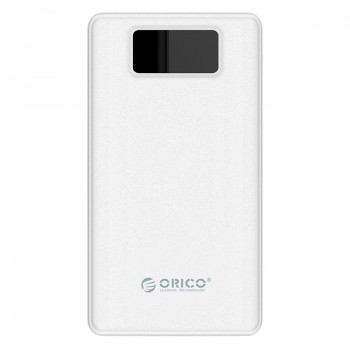 ORICO 12000mAh USB-A Smart Power Bank with Flashlight and LED Screen (LE12000)