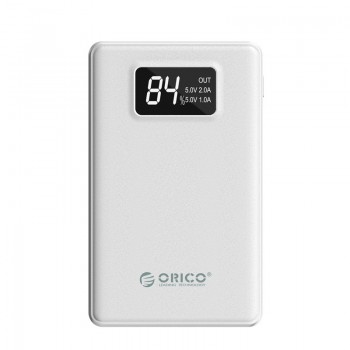 ORICO 8000mAh Smart Power Bank with Polymer A+ and Display Screen (LE8000)