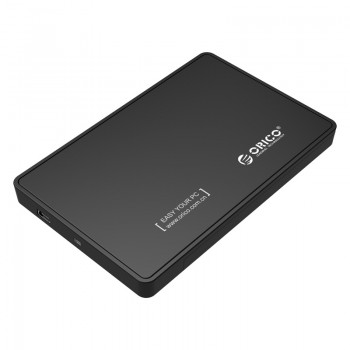 "2588US 2.5"" USB 2.0 External HDD Enclosure"