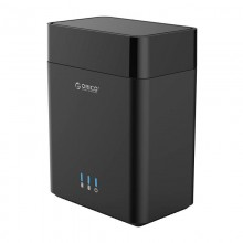 ORICO 3.5 inch 2 Bay Magnetic-type USB3.0 Hard Drive Enclosure (DS200U3)